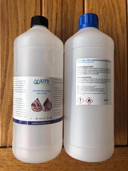 Desinfectie Handgel 1 liter afbeelding 1