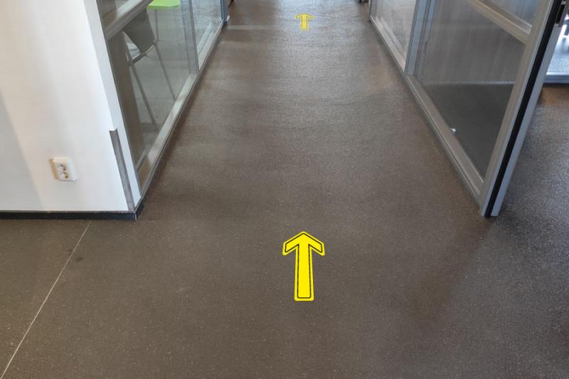 Vloer Routepijlen afbeelding 1
