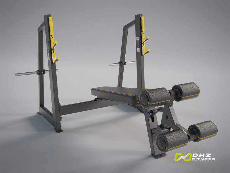 Olympic Decline Bench Evost 2 A3041 afbeelding 1