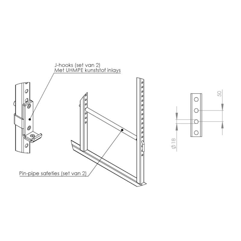 FM Cage 503 18-Pin-Pipe Basic Line afbeelding 4