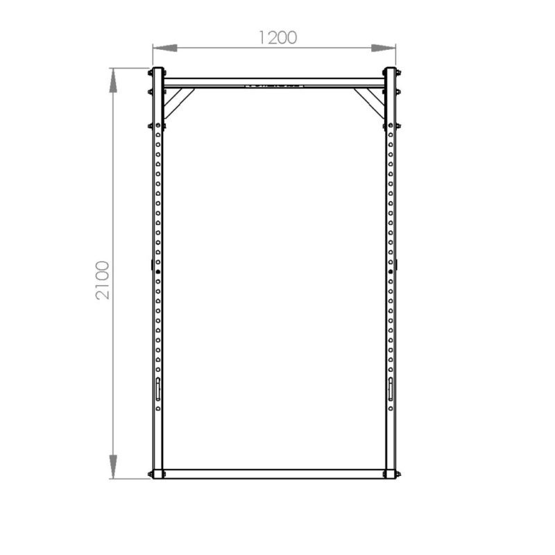 FM Cage 503 18-Pin-Pipe Basic Line afbeelding 2