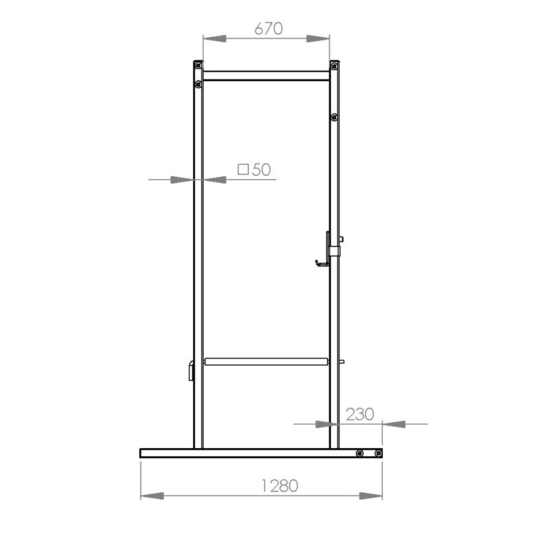 FM Cage 503 18-Pin-Pipe Basic Line afbeelding 3