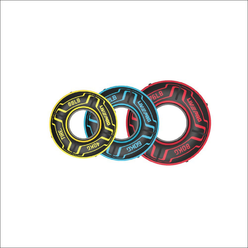Tire Flip / Wheel / Banden set 40/60/80kg (8182) afbeelding 1