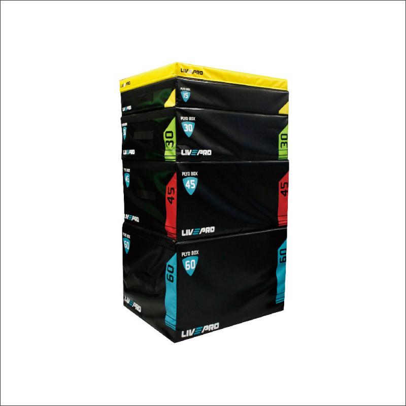 Soft Plyo Box Set light 7,5/15/30/45/60cm (8151) afbeelding 1
