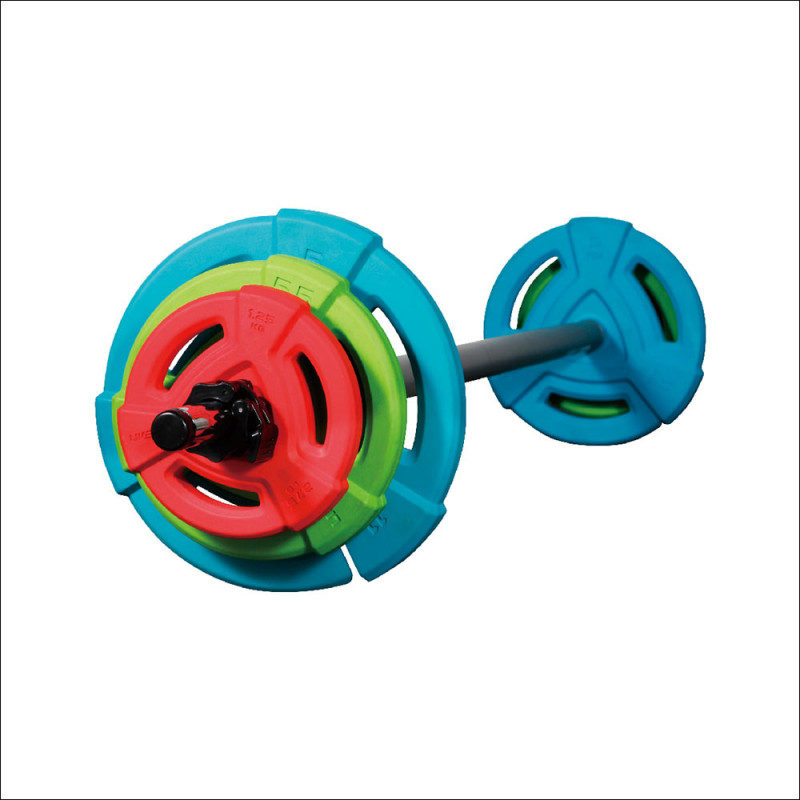 Barbell Set Rubber (8031) afbeelding 1